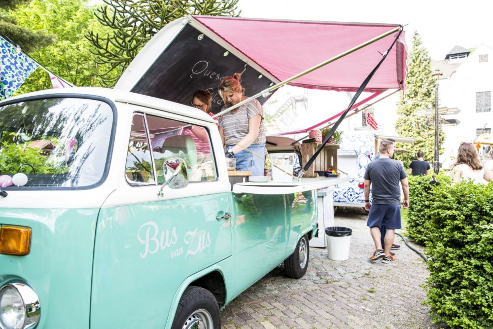 Foodtruck op Businessfestival